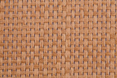 Background. Rattan placemat texture for background, close-up image Royalty Free Stock Image