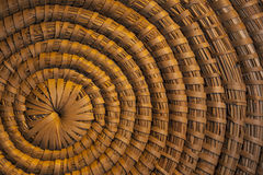 Background - Rattan Spiral Pattern Royalty Free Stock Images