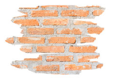 Background of raw brick wall Royalty Free Stock Photo