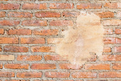 Background of raw brick wall Royalty Free Stock Photography