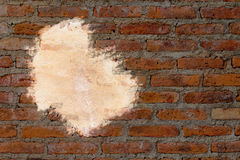 Background of raw brick wall Stock Photos