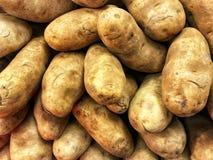 Raw potatoes background Stock Photo
