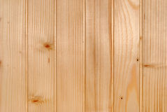 Background from raw even smooth wood Royalty Free Stock Images