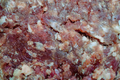 Background of raw minced meat Royalty Free Stock Photo
