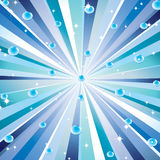Background with the rays. Royalty Free Stock Image