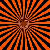 Background rays of black with orange. Vector Royalty Free Illustration