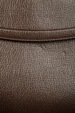 Background of real leather. Close up Stock Image
