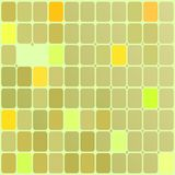 Background of rectangles of yellow stock illustration