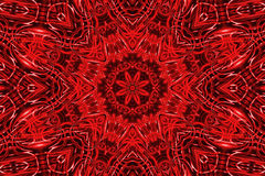 Abstract red pattern Royalty Free Stock Images