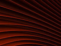 Background of red abstract waves. render Stock Image