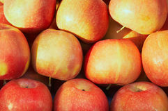 Background of the red apples Royalty Free Stock Photos