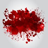 Background With Red Blots Royalty Free Stock Image