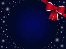 Background with red bow Stock Photos