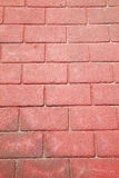 Background from red brick floor Royalty Free Stock Photos
