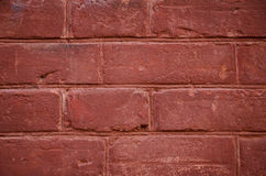 Background of red brick Royalty Free Stock Photos