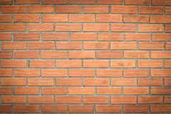 Background of red brick wall pattern texture Stock Images