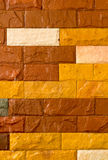 Background of red brick wall Royalty Free Stock Images