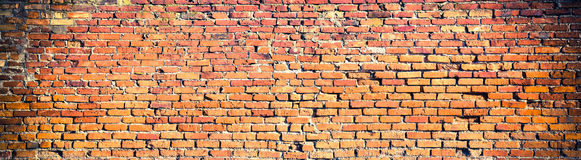 Background of red brick wall pattern texture. High resolution pa Stock Photo