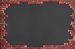 Background of red brick wall Royalty Free Stock Photo