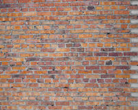Background of red brick wall. Background of brick wall texture Stock Photography
