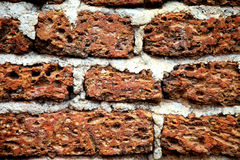 Background of red brick wall texture,Background of red brick wall texture background. Royalty Free Stock Images