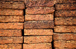 Background of red brick wall texture,Background of red brick wall texture background . Royalty Free Stock Photography