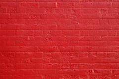 Background of red brick wall texture Royalty Free Stock Images