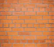Background red brick wall. Vector. EPS10 Royalty Free Stock Image