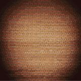 Background red brick wall. Vector. EPS10 Royalty Free Stock Images