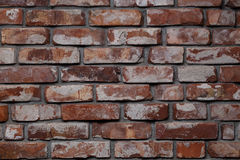 Background of red bricks Royalty Free Stock Photography