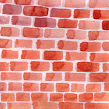 Background with red bricks Royalty Free Stock Photography