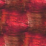 Background red brown watercolor art seamless Royalty Free Stock Image