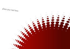 Background with red circles. Royalty Free Stock Images