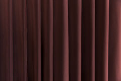 Background of a Red Curtain on a Stage.  Royalty Free Stock Photo