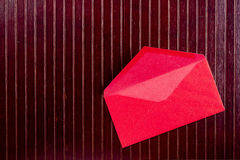 Background with red envelope Royalty Free Stock Images