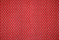 Background from a red fabric. Background from a red and grey fabric in a section Royalty Free Stock Photos