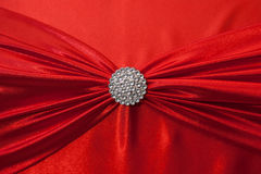 Background of red fabric Royalty Free Stock Photos