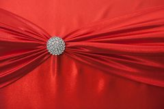 Background of red fabric Stock Images