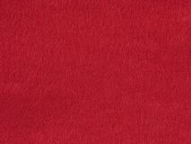 Background red felt Royalty Free Stock Photography