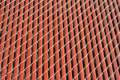 Background red fence detail Royalty Free Stock Photo