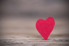 Background with a Red Heart Stock Photos