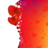 Background From Red Hearts Stock Photos