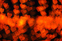 Background of red hearts Stock Photography