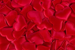 Background with red hearts. Background with full of red hearts Stock Photos