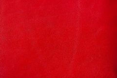 Background red leather texture. For your backdrop, with copy space Stock Photo