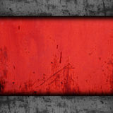 Background red metal texture iron grunge wall old Royalty Free Stock Photo
