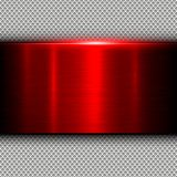 Background red metal texture Stock Photos