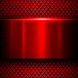 Background red metal Royalty Free Stock Photo