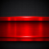 Background red metal Royalty Free Stock Images