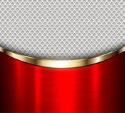 Background red metalic Stock Photography